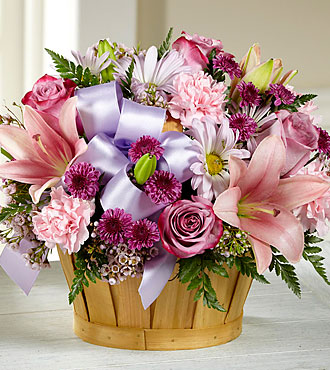 FTD Little Miss Pink Bouquet - DELUXE