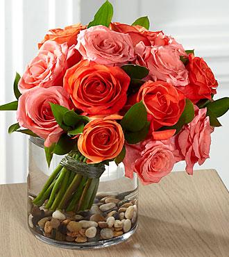 FTD Blazing Beauty Rose Bouquet - DELUXE