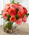 Image of Deluxe version for FTD Blazing Beauty Rose Bouquet