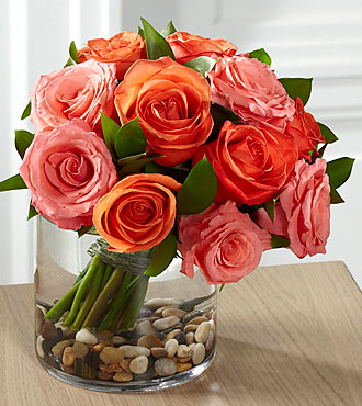 FTD Blazing Beauty Rose Bouquet - E8-5235