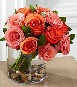 FTD Blazing Beauty Rose Bouquet