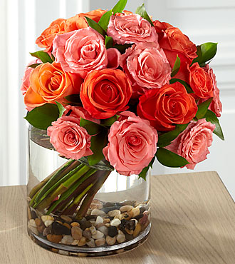 FTD Blazing Beauty Rose Bouquet - PREMIUM