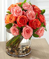 Image of Premium version for FTD Blazing Beauty Rose Bouquet