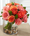 Image of Standard version for FTD Blazing Beauty Rose Bouquet