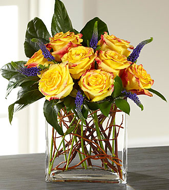 FTD Sun Blushed Rose Bouquet - E3-5236