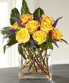 FTD Sun Blushed Rose Bouquet