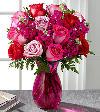 FTD Pure Romance Rose Bouquet - PREMIUM