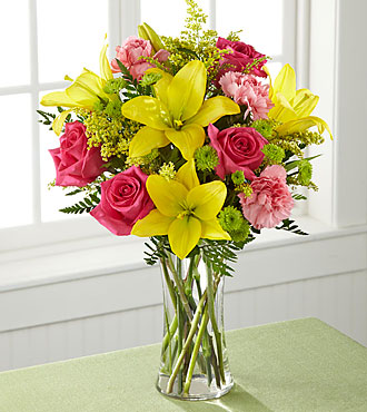 FTD Bright & Beautiful Bouquet - DELUXE