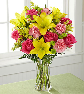 FTD Bright & Beautiful Bouquet - PREMIUM
