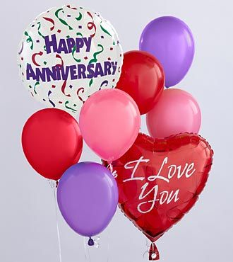Anniversary Balloon Bunch - EO-6034