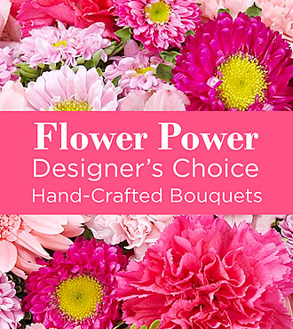 Pink Colored Florist Designed Bouquet by FTD - DELUXE