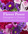 Image of Deluxe version for Purple Colored Florist Designed Bouquet by FTD
