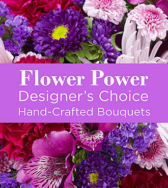 Purple Colored Florist Designed Bouquet by FTD - EO-6044