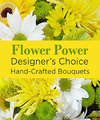 Image of Deluxe version for Yellow Colors Florist Designed Bouquet by FTD