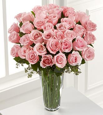 Ftd Pink Rose Bouquet 36 Stems Same Day Delivery