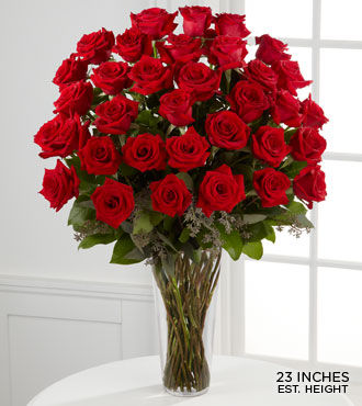 Flower Delivery International on 36 Long Stem Roses   Valentine S Day Flowers   Gifts   Flowers Fast