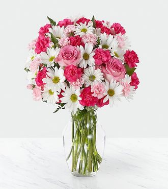 FTD Sweet Surprises Bouquet- VASE INCLUDED - DELUXE