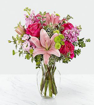 FTD Pink Posh Bouquet