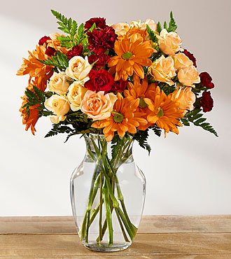 FTD Golden Autumn Bouquet - B19