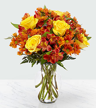 Golden Autumn Bouquet - DELUXE