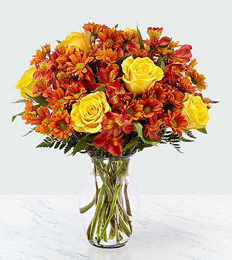 Golden Autumn Bouquet - PREMIUM