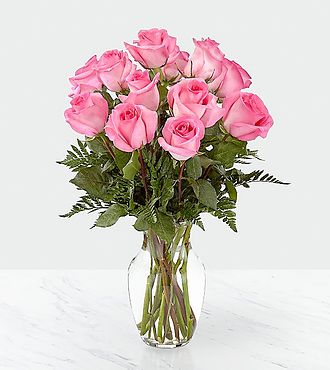 Smitten  Pink Rose Bouquet - B58