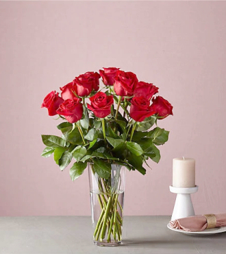 Long Stem Red Rose Bouquet - B59