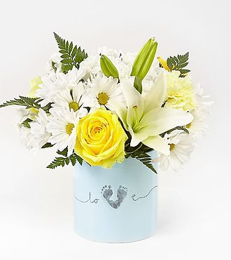 FTD Tiny Miracle New Baby Boy Bouquet