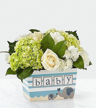 Darling Baby Boy Bouquet - BB2
