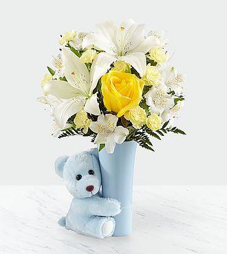 FTD Baby Boy Big Hug Bouquet