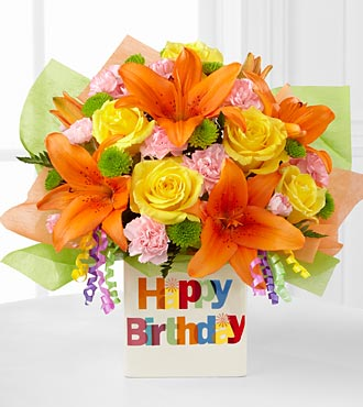 Cheap Flower Deliveries on Celebration Bouquet   Deluxe   Birthday Flowers   Flowers Fast