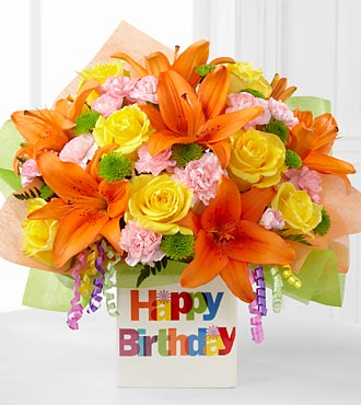 FTD Birthday Celebration Bouquet - PREMIUM