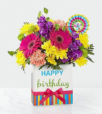 Fake Flower Arrangements on Ftd Happy Birthday Bouquet   Birthday Flowers   Flowers Fast