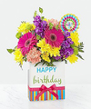 Birthday flowers - Click for larger image and details.