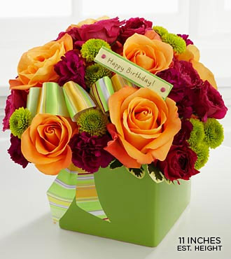 Birthday Bouquet by FTD - DELUXE