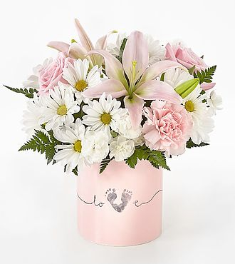 FTD Tiny Miracle New Baby Girl Bouquet