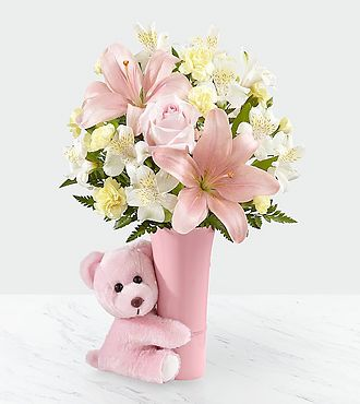Baby Girl Big Hug Bouquet by FTD