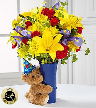 Ftd Big Hug Birthday Bouquet Deluxe Birthday Flowers