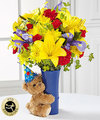 Image of Deluxe version for FTD Big Hug Birthday Bouquet