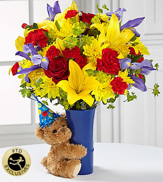 FTD Big Hug Birthday Bouquet - PREMIUM