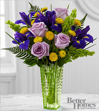 FTD Garden Vista Bouquet by Better Homes and Gardens - DELUXE