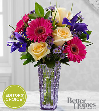 FTD Hello Happiness Bouquet by Better Homes and Gardens