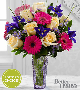 FTD Hello Happiness Bouquet by Better Homes and Gardens - PREMIUM