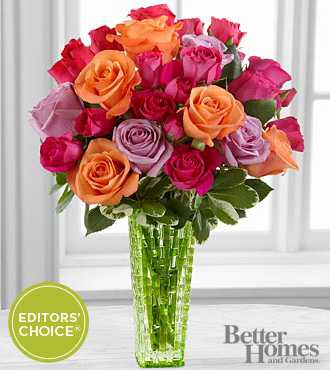 FTD Sun's Sweetness Rose Bouquet by Better Homes and Gardens - DELUXE