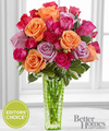 Image of Deluxe version for FTD Sun Sweetness Rose Bouquet by Better Homes and Gardens