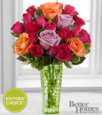 FTD Sun Sweetness Rose Bouquet by Better Homes and Gardens