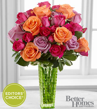 FTD Sun's Sweetness Rose Bouquet by Better Homes and Gardens - PREMIUM