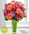 Image of Premium version for FTD Sun Sweetness Rose Bouquet by Better Homes and Gardens