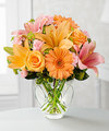 Image of Brighten Your Day Bouquet by FTD - CUT GLASS VASE INCLUDED