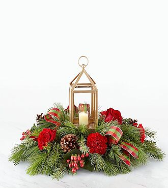 I'll Be Home for Christmas Centerpiece - 20-C3